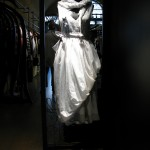 Busto dingresso, abito Pro - Mannequin at the entrance, Pro dress