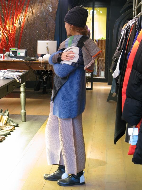 Outfit Daniela Gregis-Nafi-Pleats Please-Marsèll Goccia