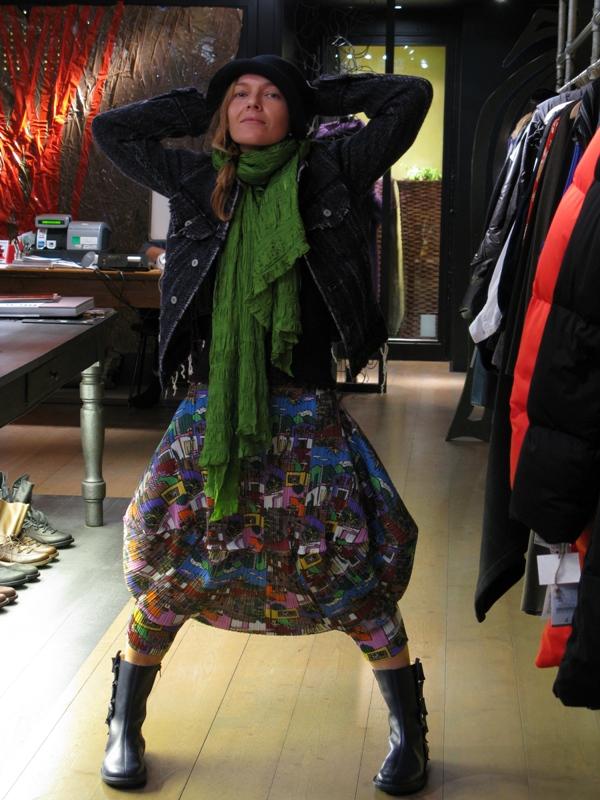 Outfit Scha-Junya Watanabe-Cauliflower-Trippen