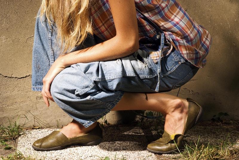 Yohji Yamamoto shirt, Johnbull jeans, Trippen shoes