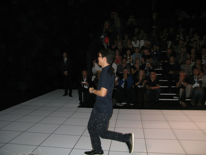 Tadanari Yokoo, Issey Miyake designer