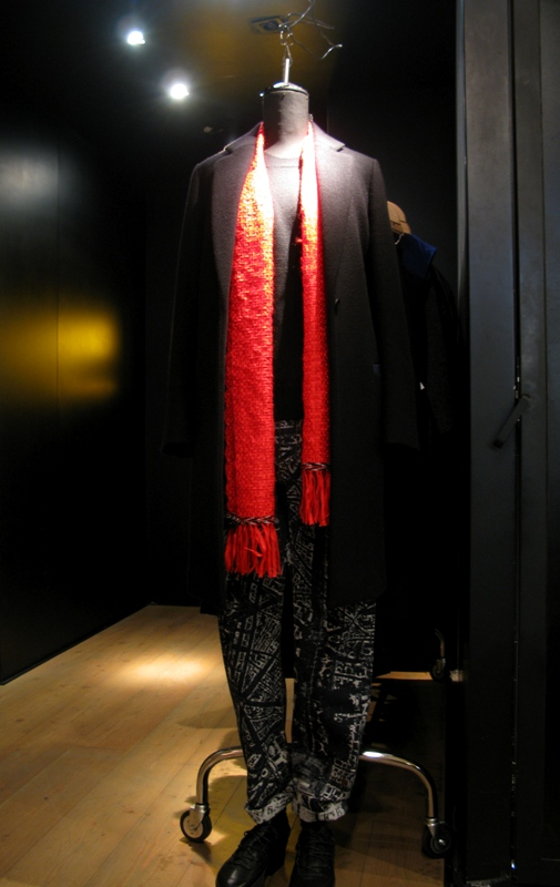 Issey Miyake outfit Fall/Winter 2014