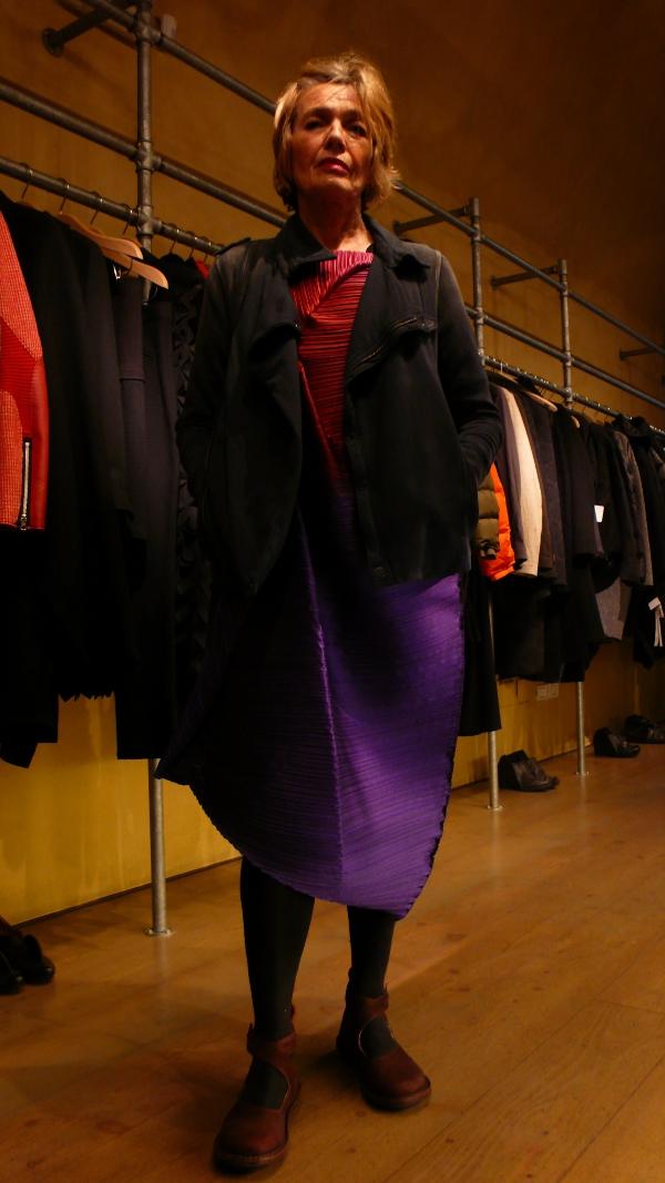 Issey Miyake dress Fall/Winter 2014
