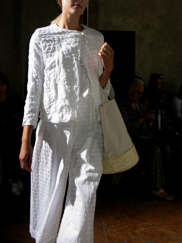 Daniela Gregis, Spring/Summer 2014, White, Trousers, Jacket