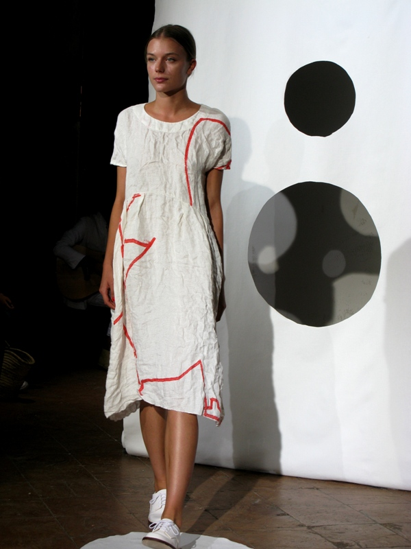 Daniela Gregis, Spring/Summer 2014, White, Dress