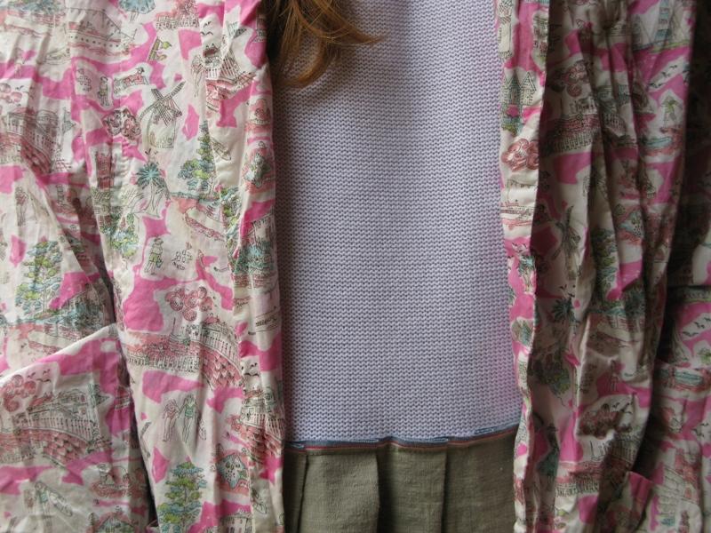 Daniela Gregis, Spring/Summer 2014, Dress, Pink, Jacket