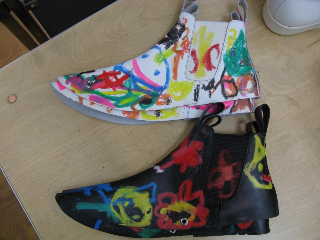 Comme des Garçons, SS2014, Shoe Covers