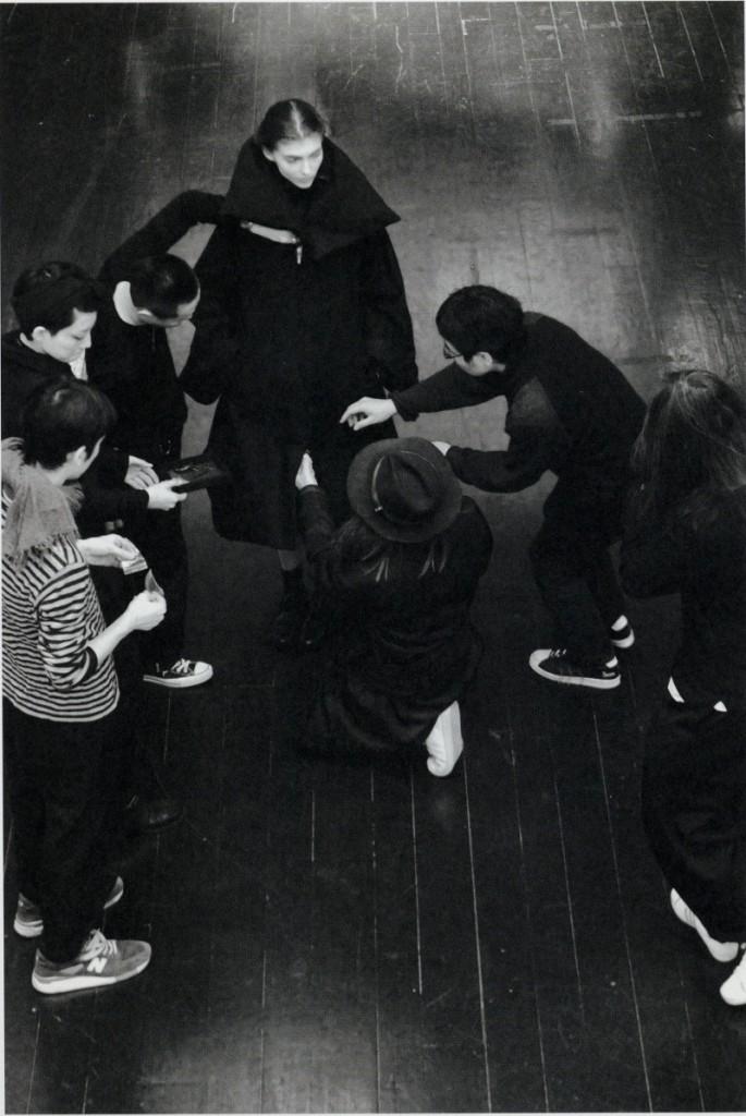 Yohji, Yamamoto, FW 2014, Backstage