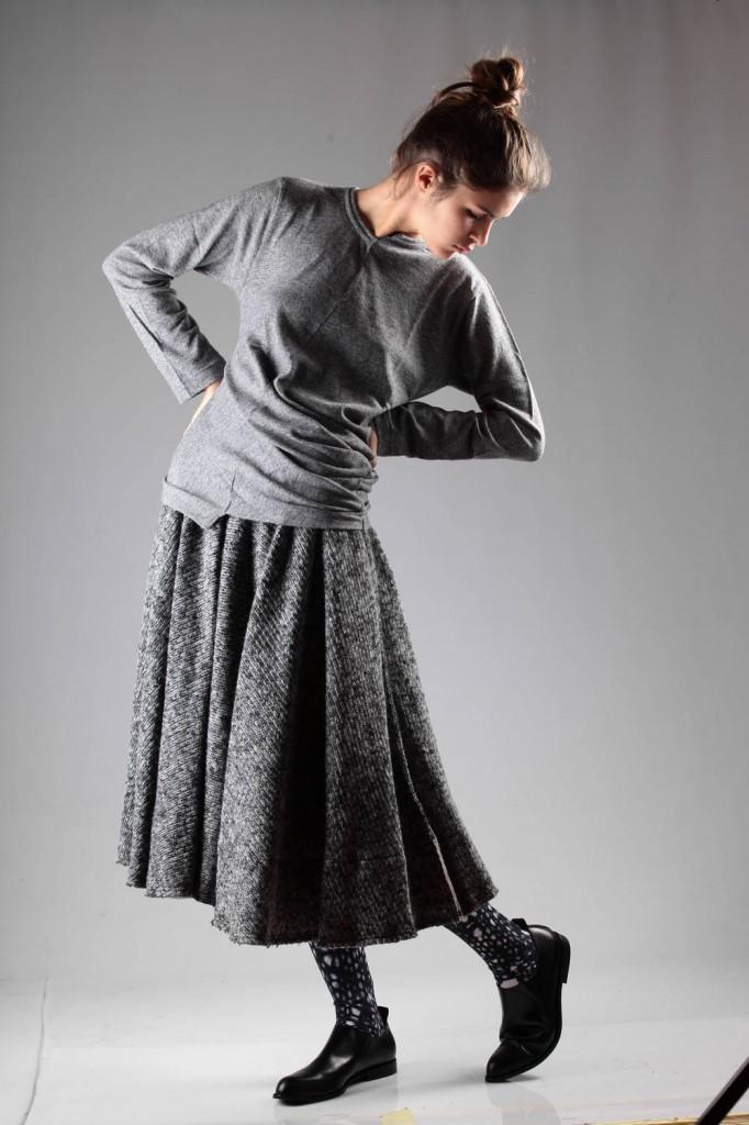 Comme des Garçons, Skirt, Sweater, Aw 2014