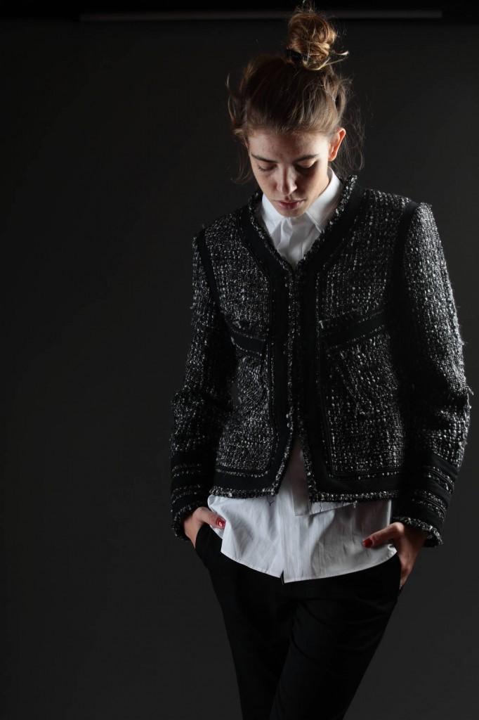 Y's, Yohji, Yamamoto, Chanel, Jacket, Raw, Cut, Shirt, AW 2014-15