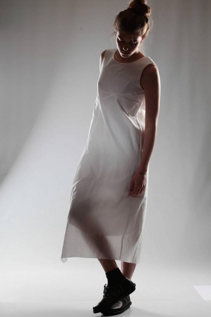 un-namable, white, dress, ss 2015