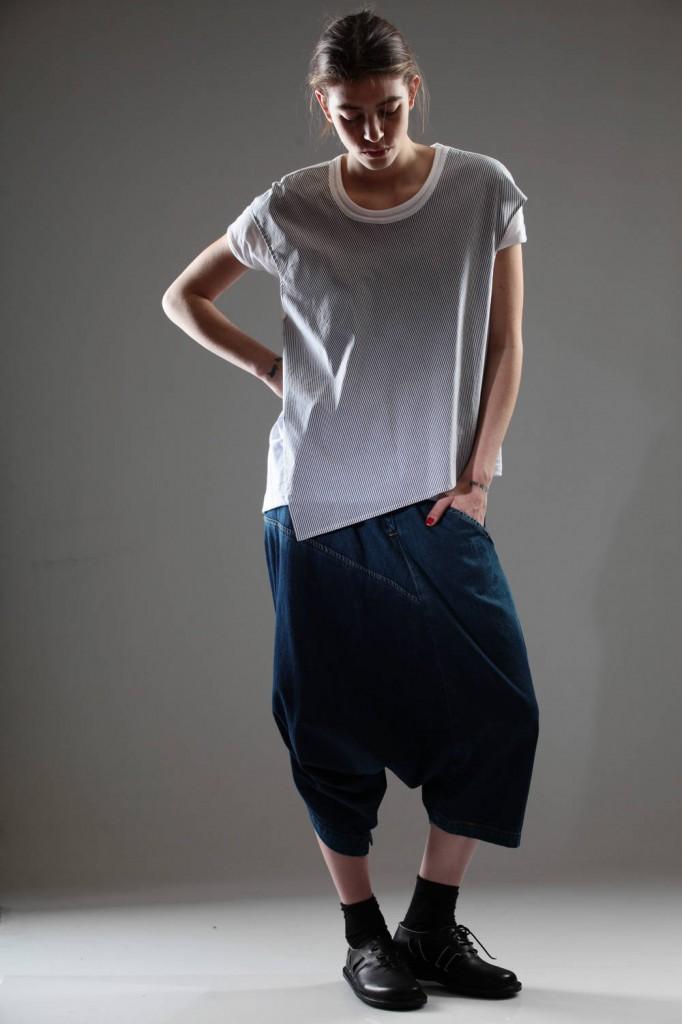 Y's, Yohji, Yamamoto, Jeans, T-Shirt, SS 2015