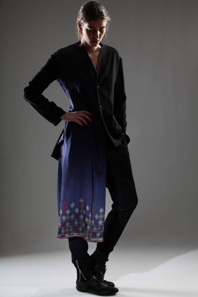 Yohji, Yamamoto, Ikat, Jacket, SS, 2015