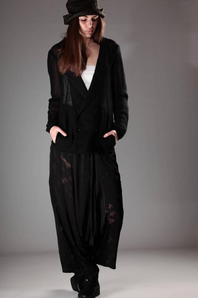 Yohji, Yamamoto, Jacket, Divided, Skirt, SS, 2015