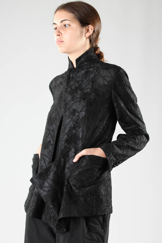 comme des garçons fw 2016 black jacket