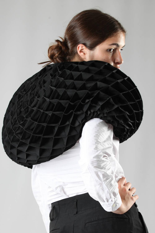 junya watanabe fw 2016 origami scarf