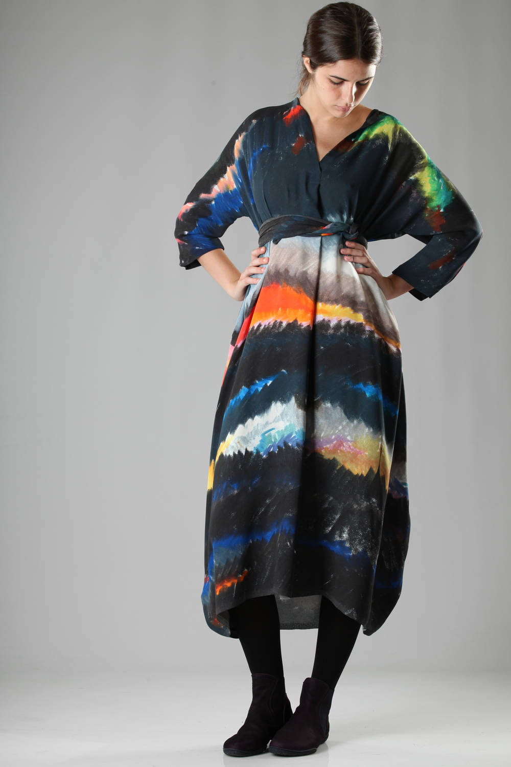 daniela gregis fw 2016 multicolor dress-5