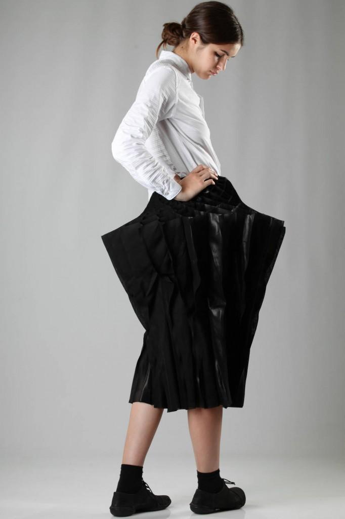 Junya, Watanabe, Shirt, Skirt, AW 2015-16