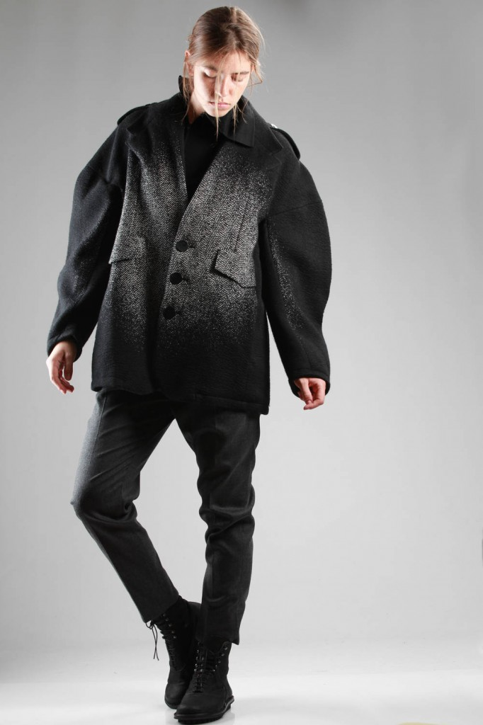 Anrealage, AW 2015-16, Pea Coat