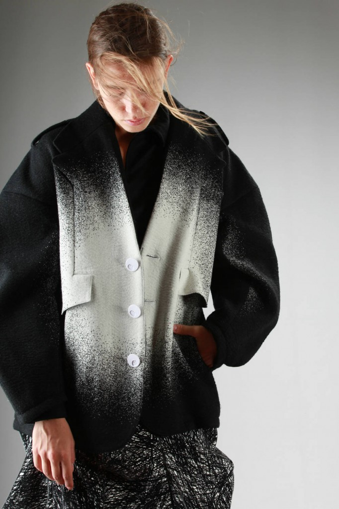 Anrealage, AW 2015-16, Pea Coat, Skirt