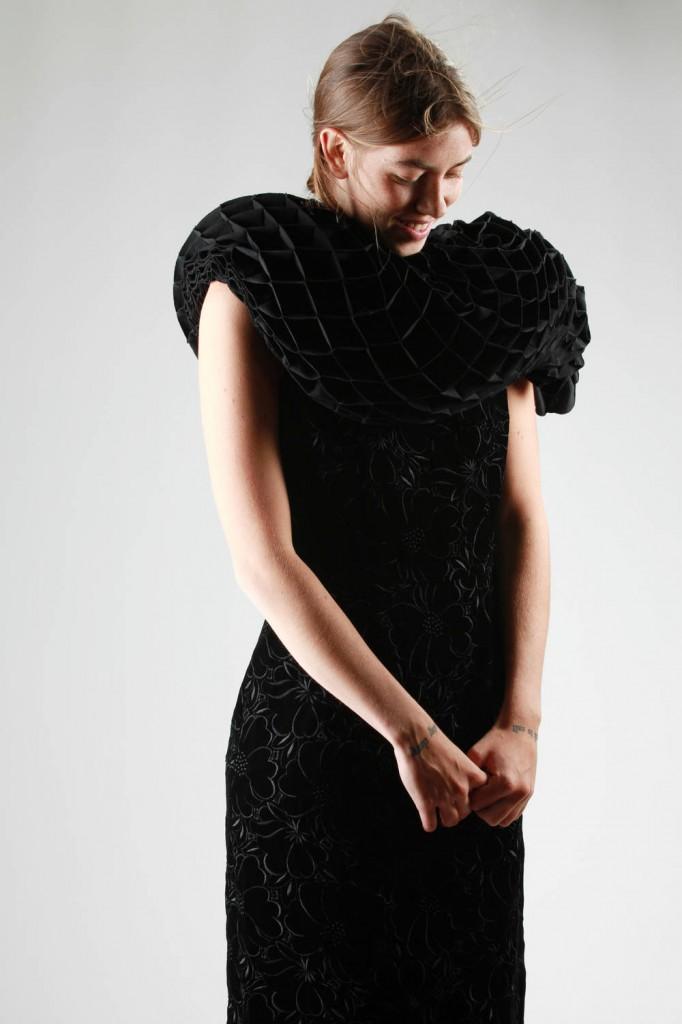 Comme des Garçons, Dress, Junya Watanabe, Cape, AW 2015-16