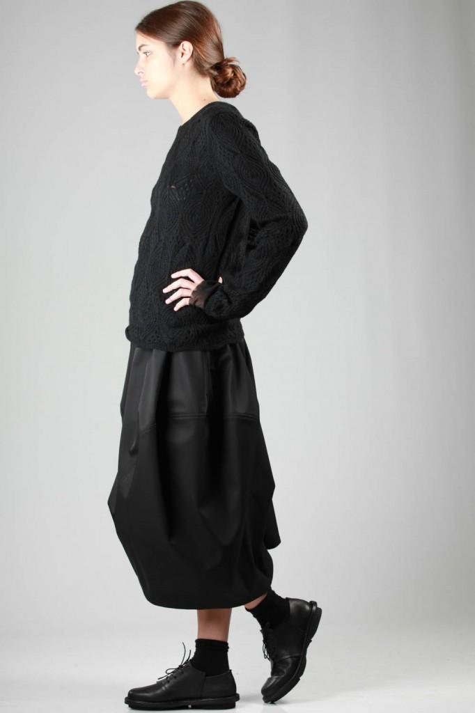 Comme des Garçons, Sweater, Skirt, AW 2015-16