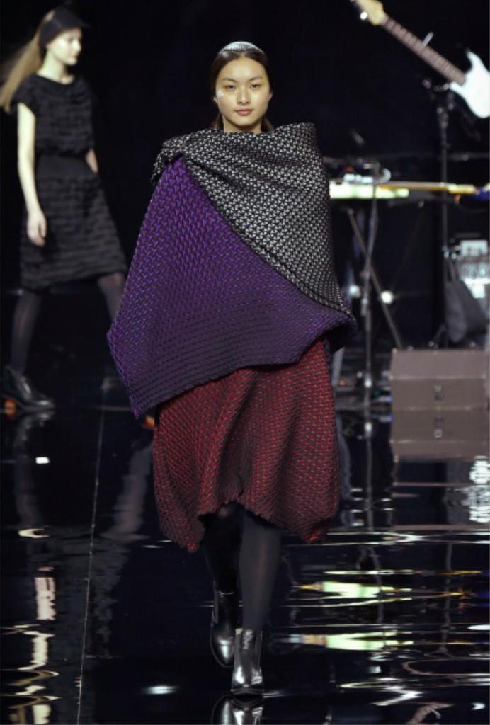 Issey, Miyake, AW 2015-16, Fashion Show