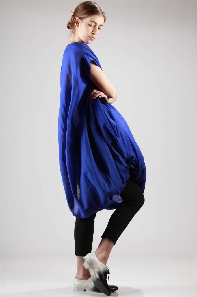 Junya, Watanabe, SS2016, Blue, Cotton, Dress