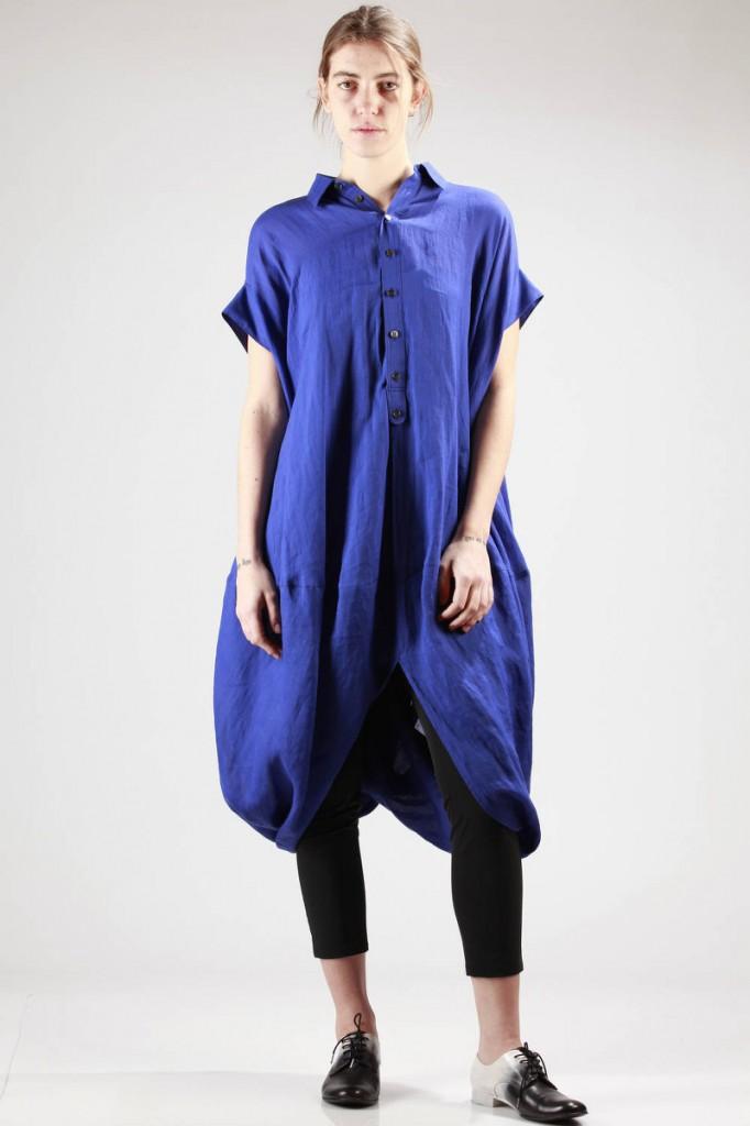 Junya, Watanabe, SS16, Blue, Shirt, Dress