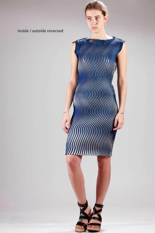 Issey Miyake Reversible Dress SS16