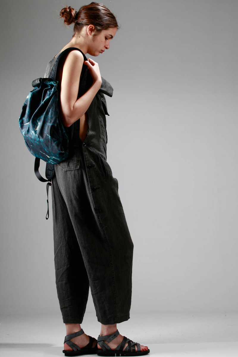 Y's Yohji Yamamoto Spring/Summer 2016 jumpsuit and back-pack