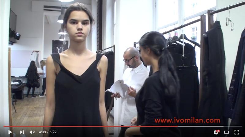 Y's Yohji Yamamoto Spring/Summer 2016 show-room