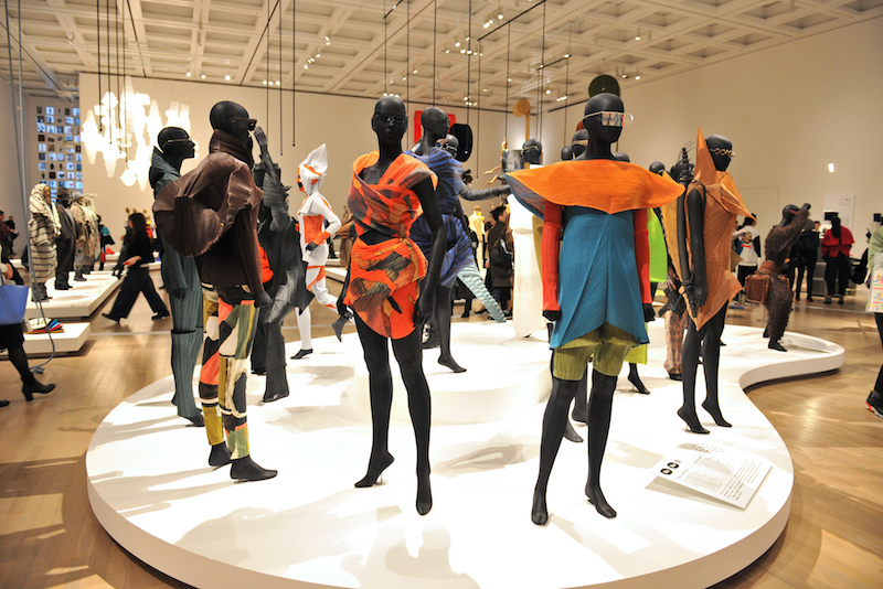 Issey Miyake Exhibition at the National Art Center in Tokyo
