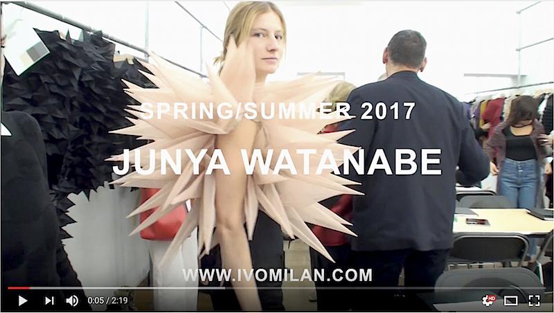 Junya Watanabe S/S Collection 2017