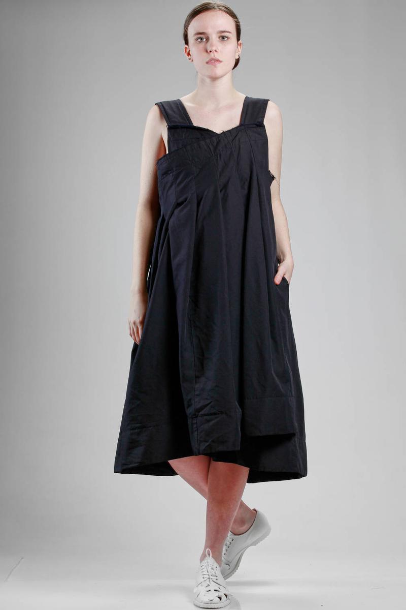 Comme des Garçons polyester dress S/S 2017