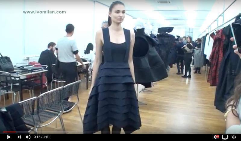 Comme des Garçons Spring/Summer 2017 show-room video