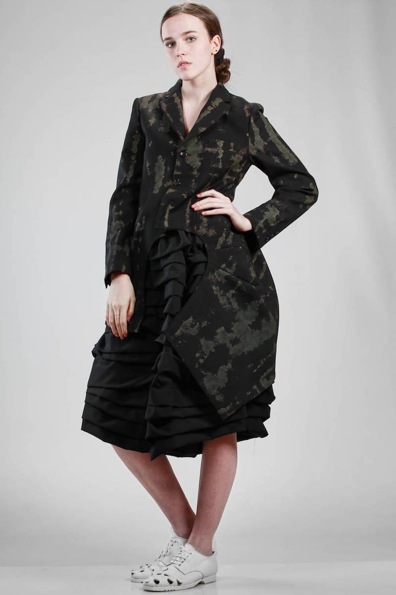 Comme des Garçons camouflage jacket S/S 2017