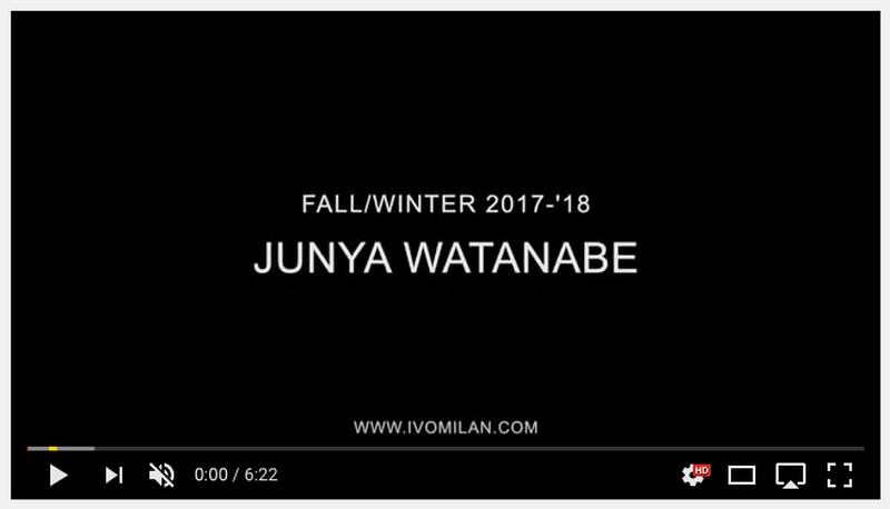 Junya Watanabe Fall/Winter 2017-2018